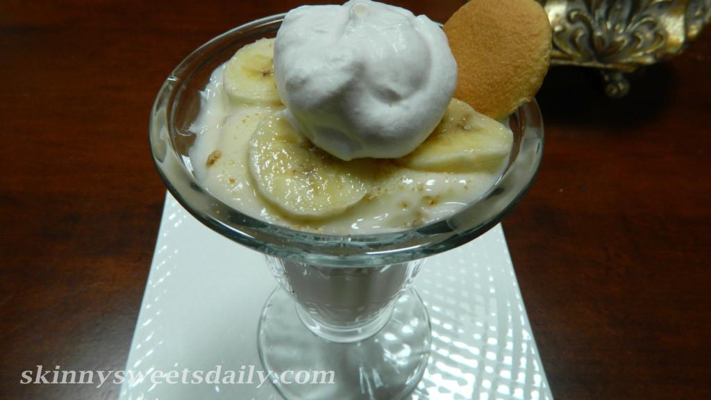 Banana Cream Pie LightYogurt Parfait