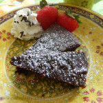 Easy Decadent Brownie Pie
