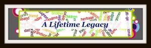 A Lifetime Legacy horizontal logo