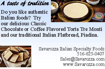 Skinny Sweets Daily Preferred Vendor | Savarozza Italian Specialty Foods Inc