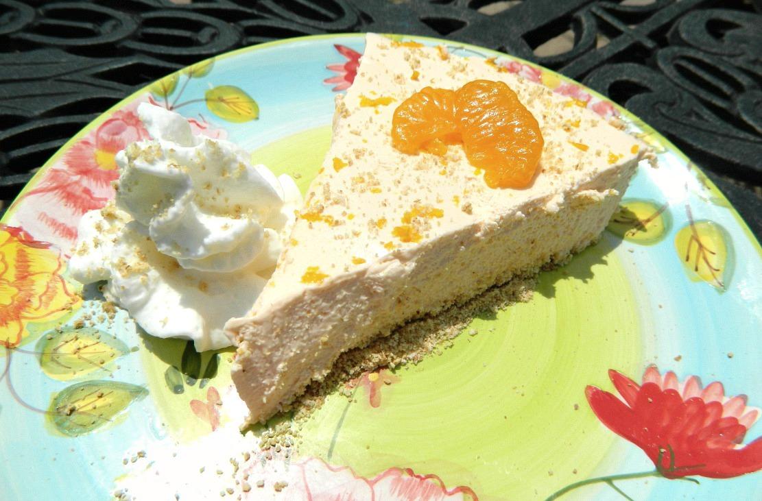 No Bake Creamy Dreamy Orange Cheesecake Pams Daily Dish