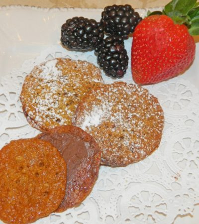 Bakery Style Florentine Lace Cookies
