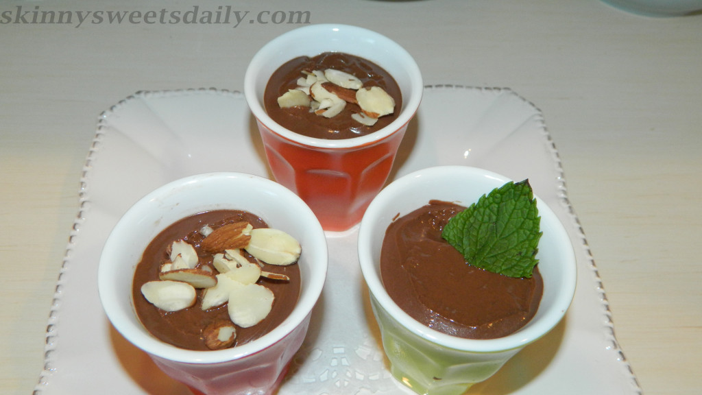 Skinny Vegan Double Chocolate Mousse, Version Two