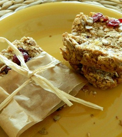 Toasted Wholesome Sunflower Seed Nutty Granola Bars