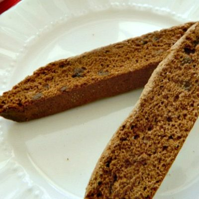 Extra Large Chocolate Chip Nutella Biscotti