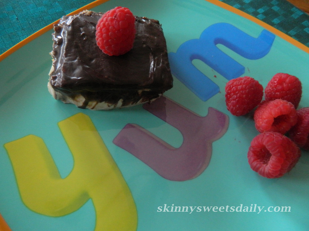 Low Fat, No Bake Chocolate Éclair Cake 2