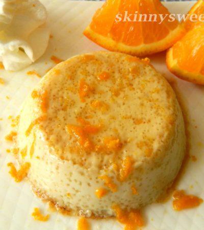 Light and Luscious Orange Cinnamon Flan
