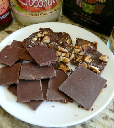 Simple Homemade Dark Chocolate