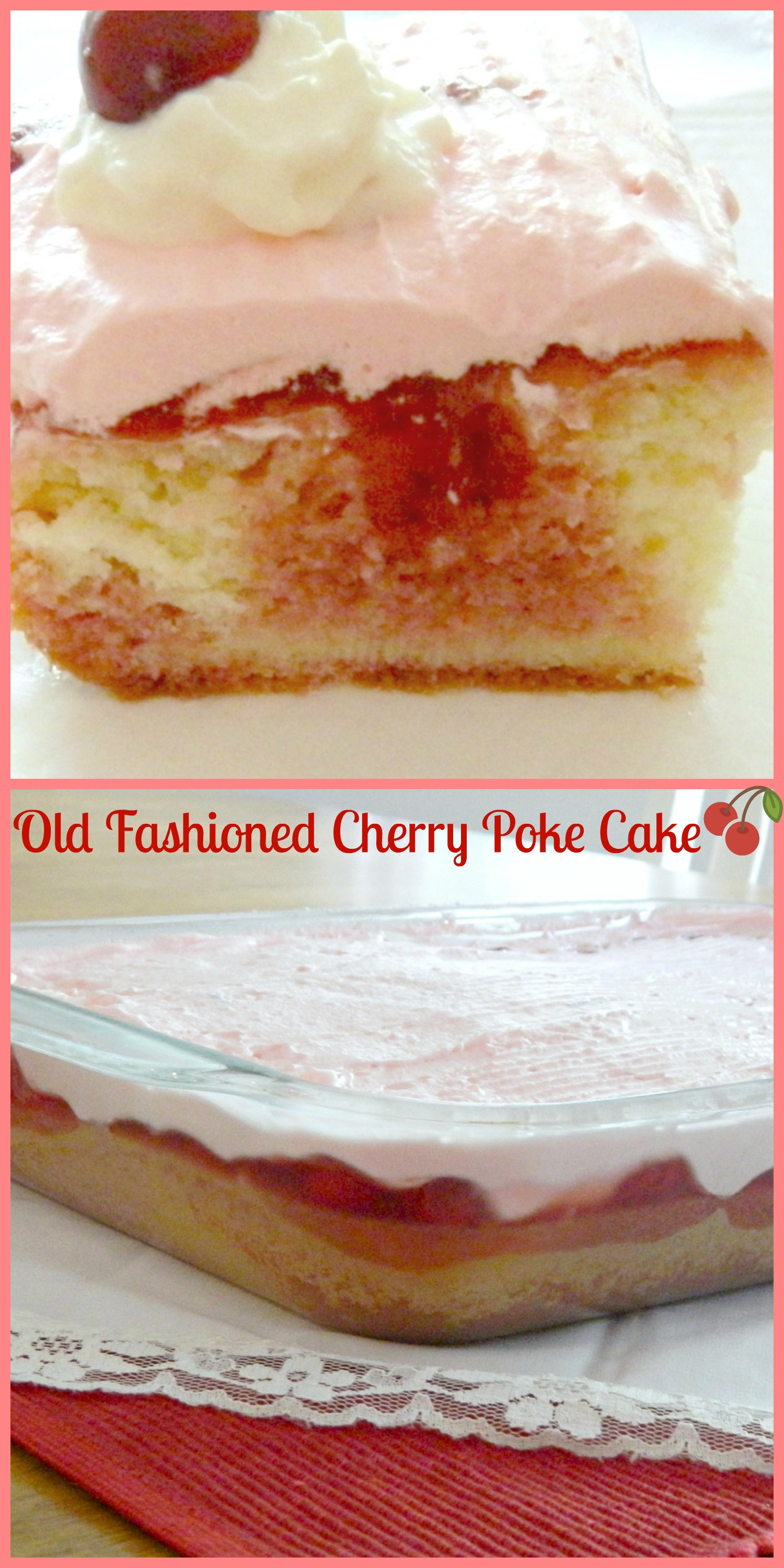 Old-fashioned Cherry Cake Recipes Delia Online 15