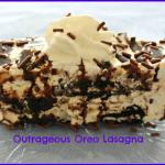 Outrageous Oreo Lasagna