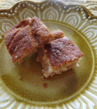 Luscious Cinnamon Cheese Danish