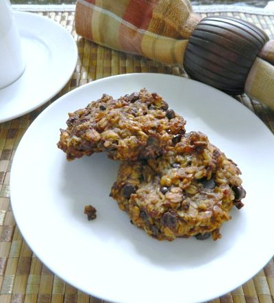 Banana Oaties Chocolate Chip Cookies