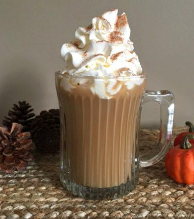 Copycat Starbucks Pumpkin Pie Latte