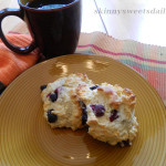 Blueberry Lemon Drop Biscuits / Scones