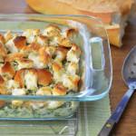Creamy Chicken and Spinach Casserole