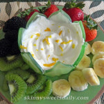 Light and Luscious Fruit Dip
