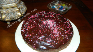 GooeyChocolate FudgeCake Made Skinny 2