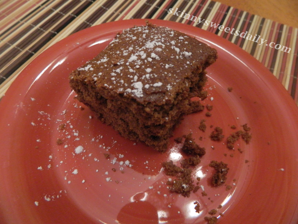 One Bowl Moist Apple Butter Spice Cake