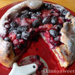 Healthy Berry Ricotta Pizza