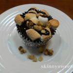 Oreo Marshmallow Brownie Cupcakes