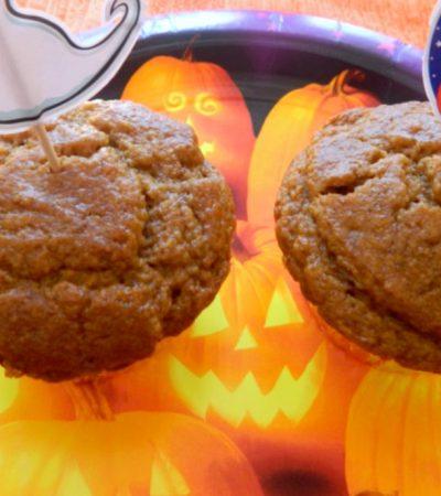 Halloween Pumpkin Spiced Muffins