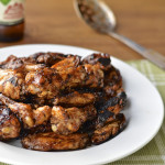 Grilled Spicy and Sweet Chicken Wings