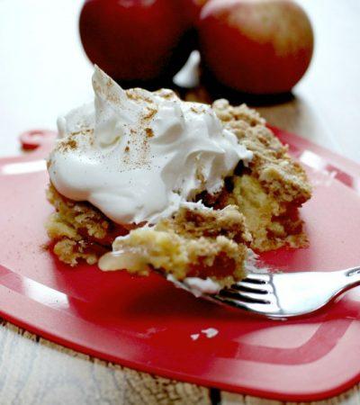 Pantry Apple Crumble Cake