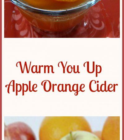 Warm You Up Apple Orange Cider