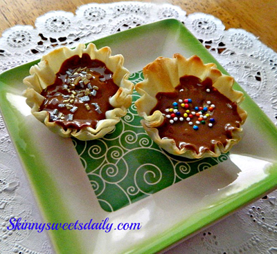 Mini Phyllo Peanut Butter Cups