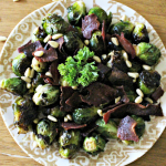 Brussels Sprouts With Turkey Bacon And Pine Nuts