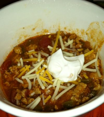 Wendy's Healthy Turkey Chili