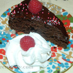 Gooey Chocolate Fudge Cake