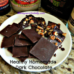 Healthy Dark Chocolate Mini Bars