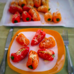 Pine Feta Stuffed Mini Sweet Peppers