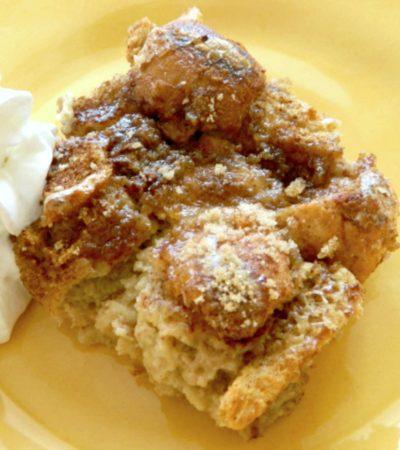 Warm Cinnamon Bread Pudding