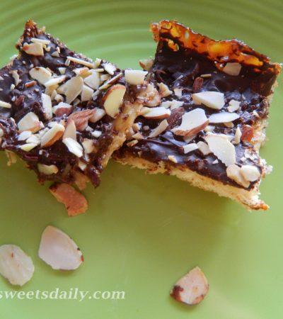 Chocolate Coconut Almond Bars