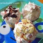 Creamy Crunchy Strawberry Chocolate Cone Surprise