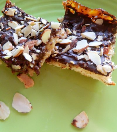 Simple Chocolate Coconut Almond Bars