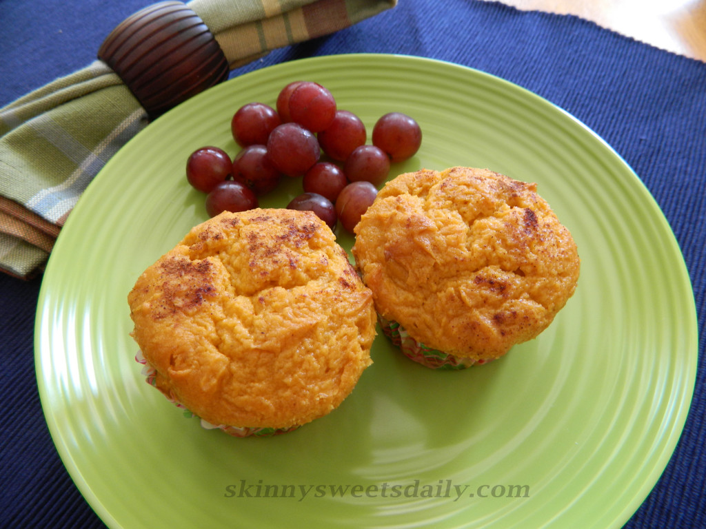 Low Fat and Yummy Pumpkin Muffins