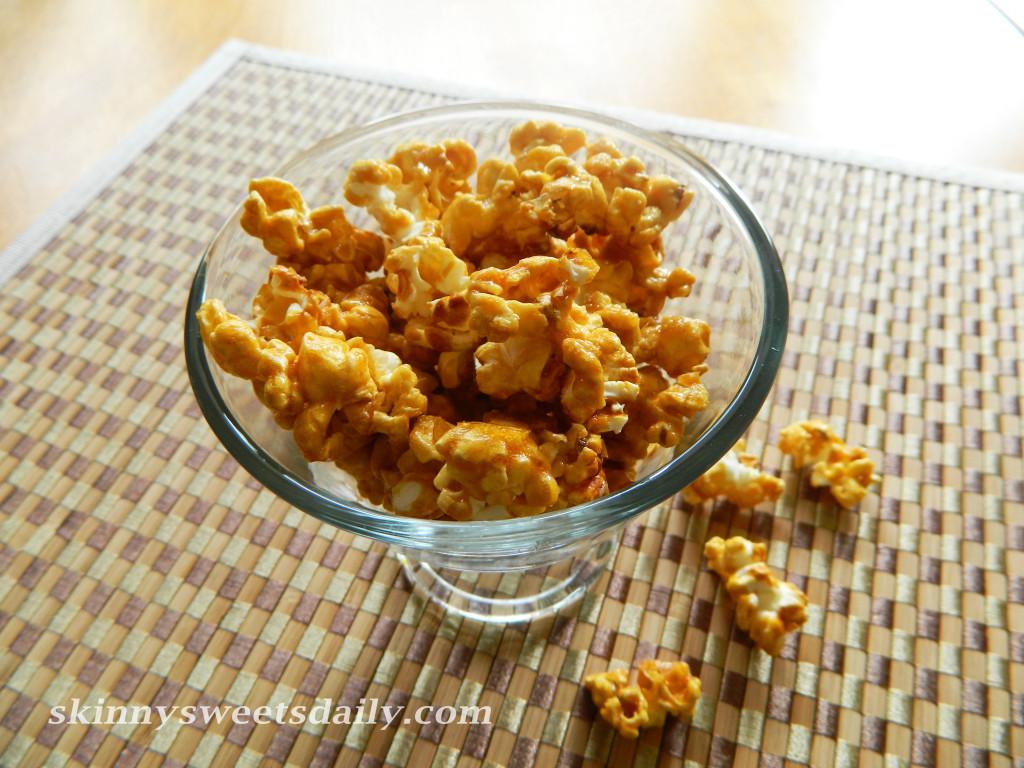 Super Bowl Caramel Popcorn