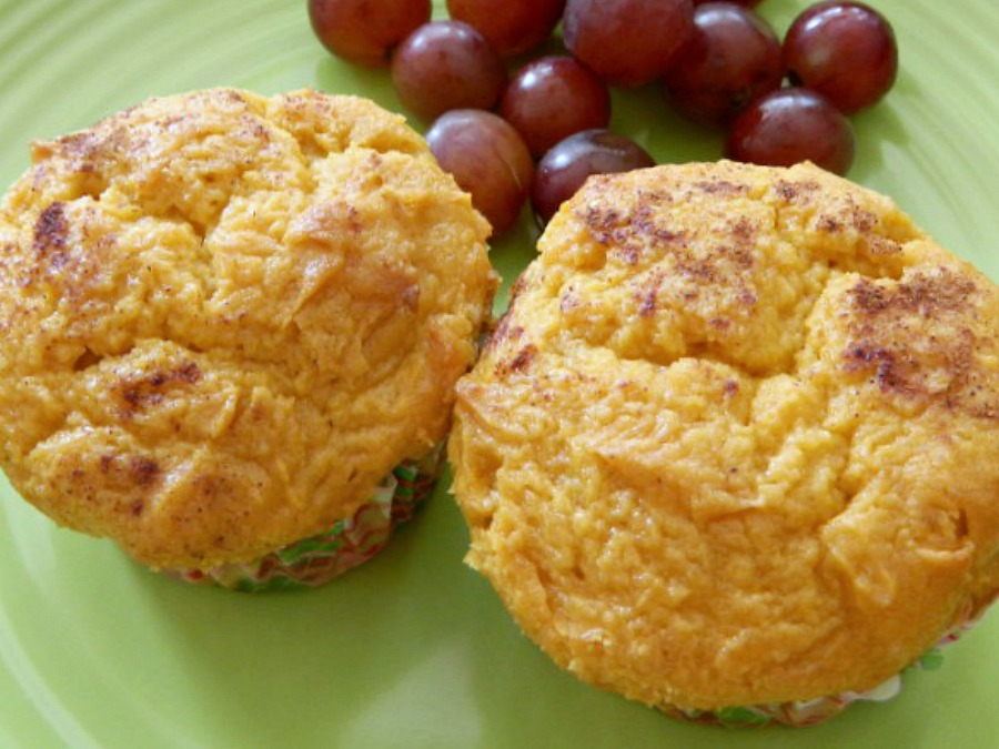 Cake Mix Low Fat Pumpkin Muffins Pams Daily Dish