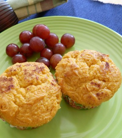 Cake Mix Low Fat Pumpkin Muffins