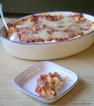 Fake Lasagna