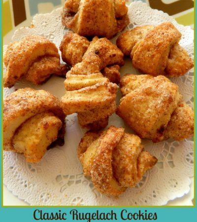 Easy Classic Cinnamon Rugelach Cookies