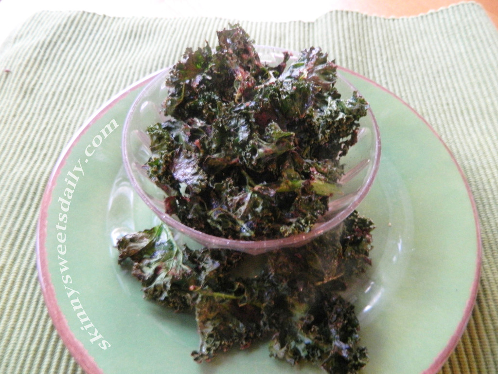 Crunchy and Sweet Kale Chips