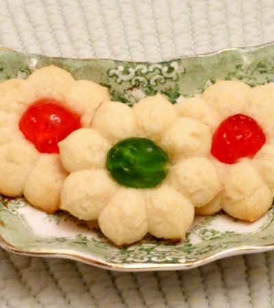 Dainty Tea Cookies