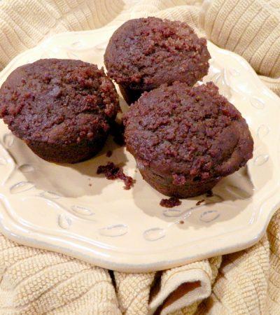 Streusel Topped Pumpkin Muffins