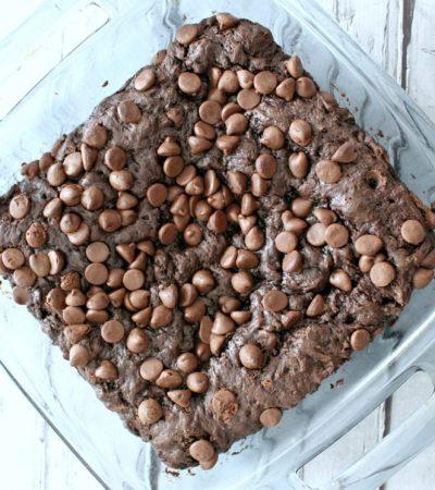 Triple Chocolate Pudding Dump Cake