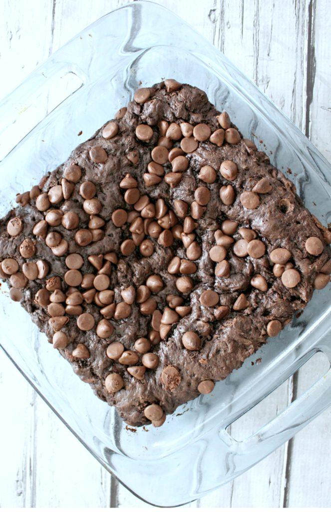 Instant Chocolate Pudding Dump Cake
