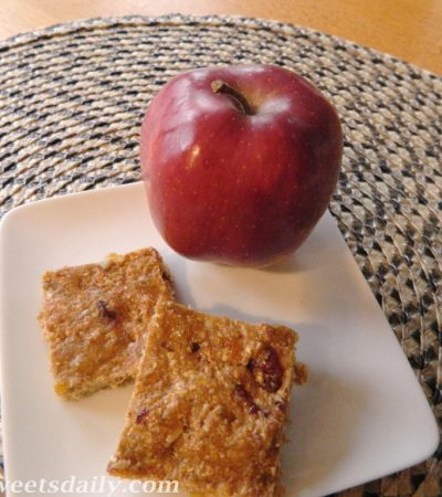 Wholesome Snack Bars with Flax and Wheat Germ